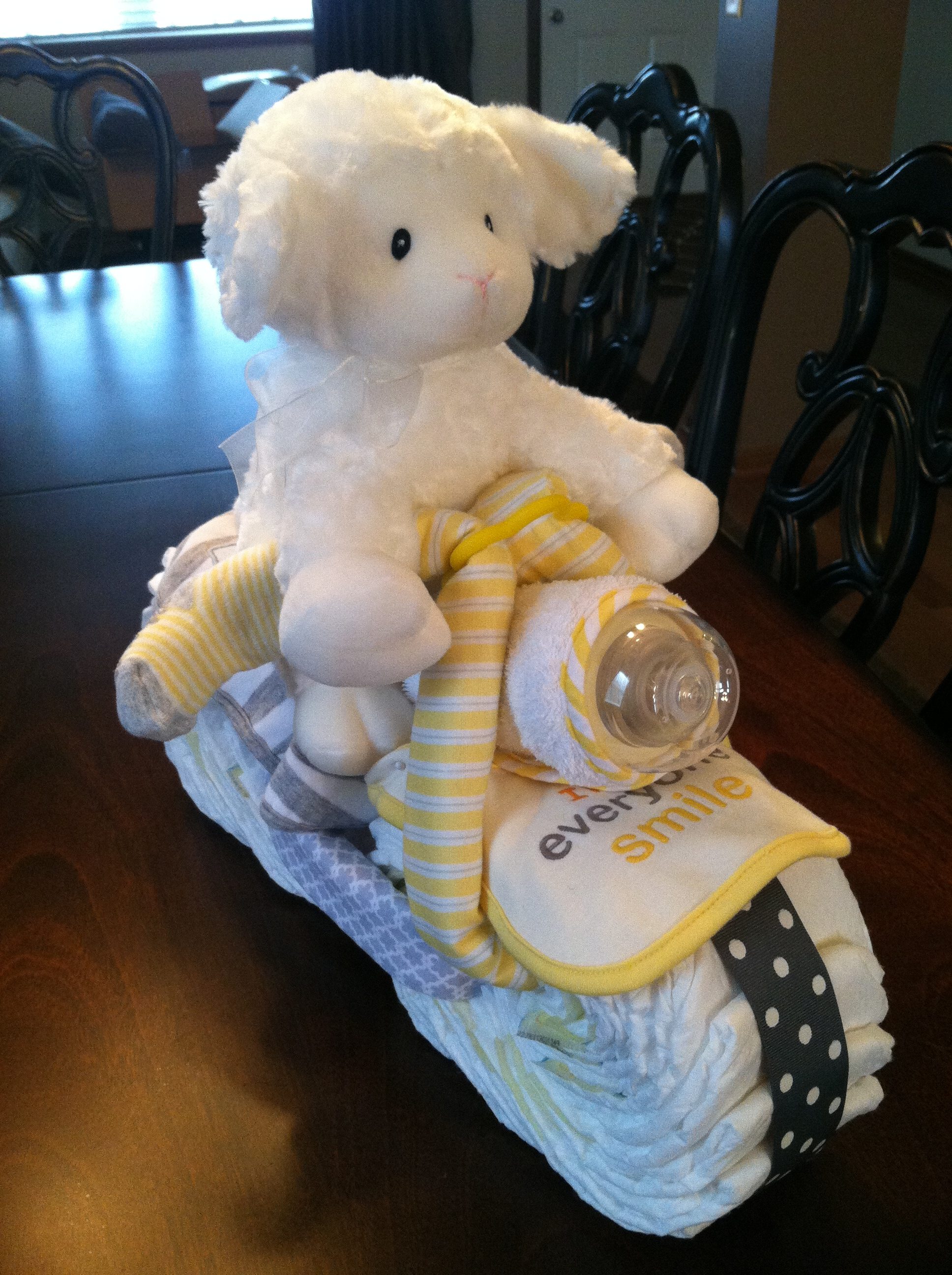 Diy Adorable Diaper Motorcycle Bria Hammel Interiors
